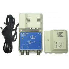 Усилитель сигнала ТВ (ALCAD AI-200)